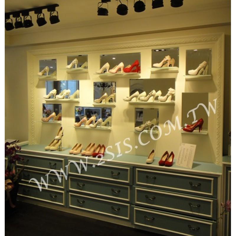 店面空間規劃-婚鞋展示間