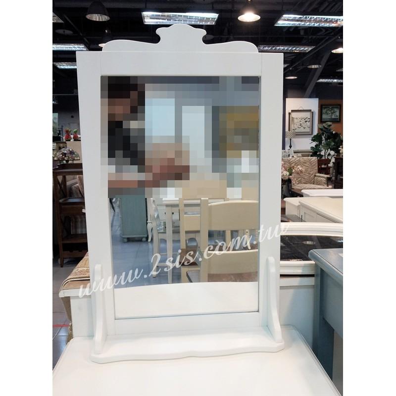 英式橡木小層板壁鏡