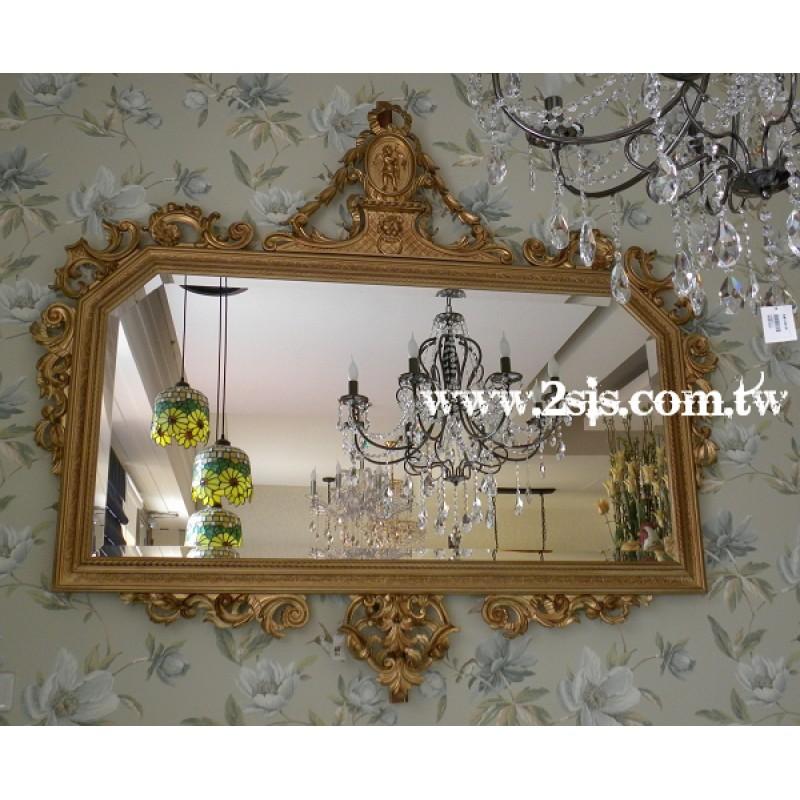 金箔玄關鏡