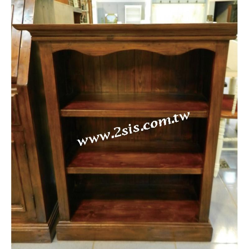A39手工開放小書櫃/鞋櫃