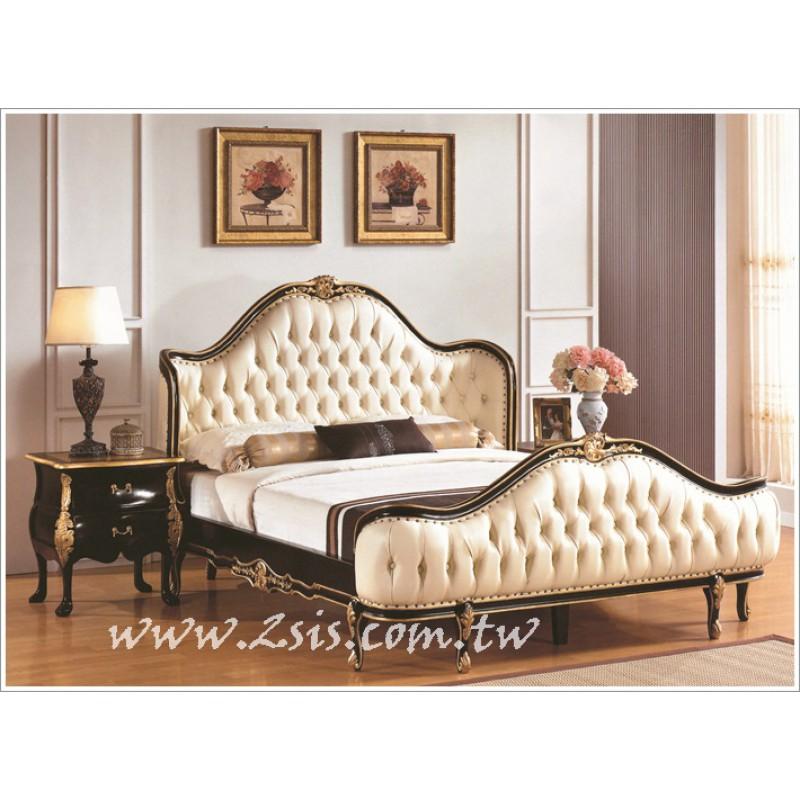 法式宮廷六尺雙人床