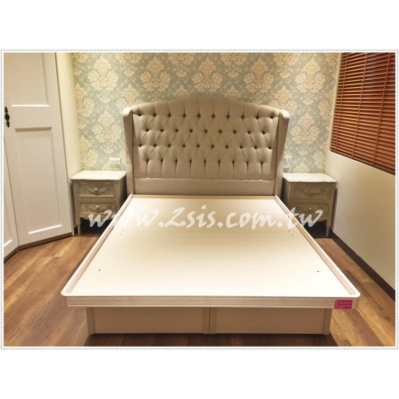 【訂製款】銅釘拉扣五呎床頭片