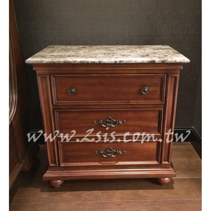美式大理石床頭櫃