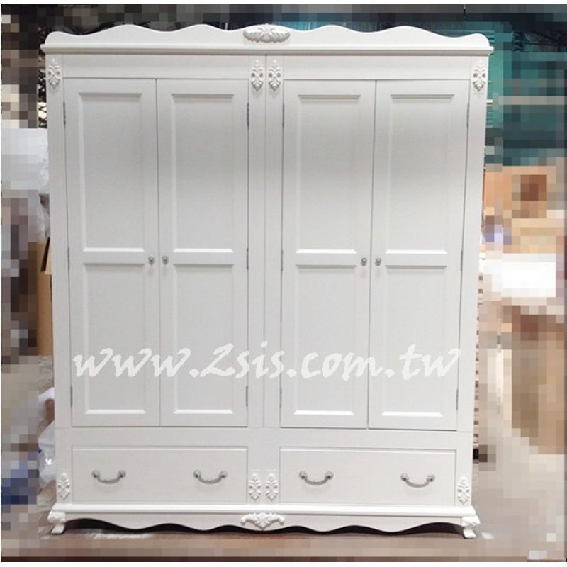 皇家貴族歐式實木雕花衣櫃/衣櫥(多種尺寸)