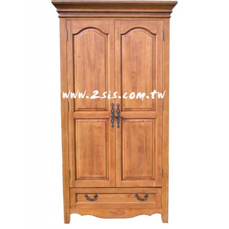 英式貴族雙門衣櫃