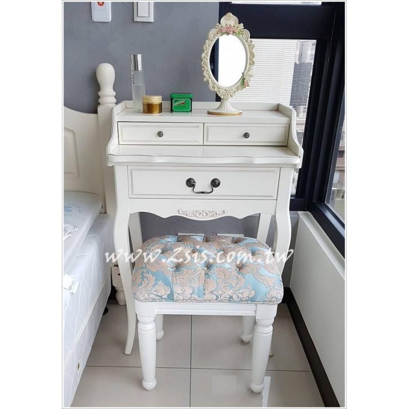 鄉村雕花化妝台/寫字桌