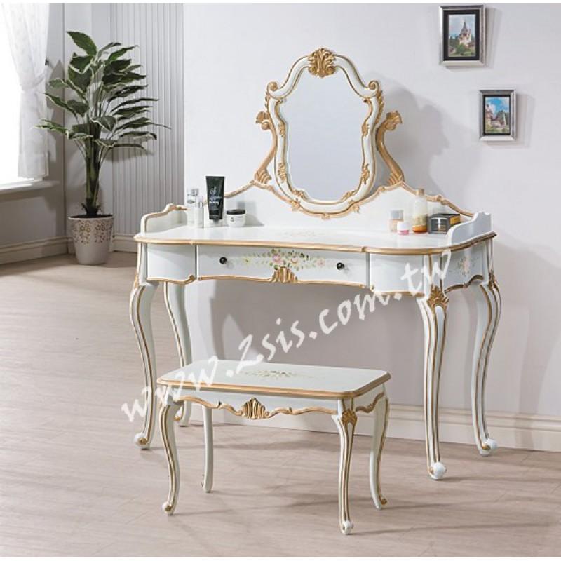 伊麗莎白4尺鏡台(含椅)
