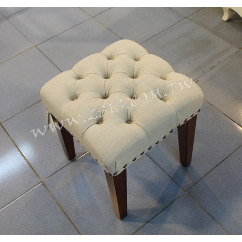美式拉扣化妝椅
