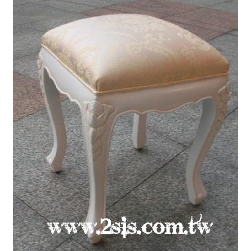 愛德琳洗白仿古化妝椅