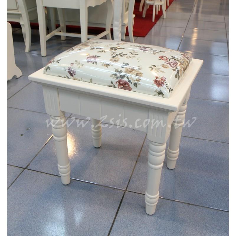 洗白化妝椅