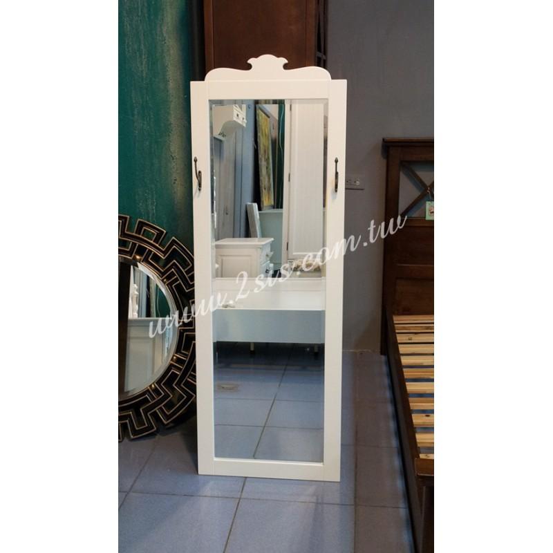 英式橡木穿衣鏡/壁鏡