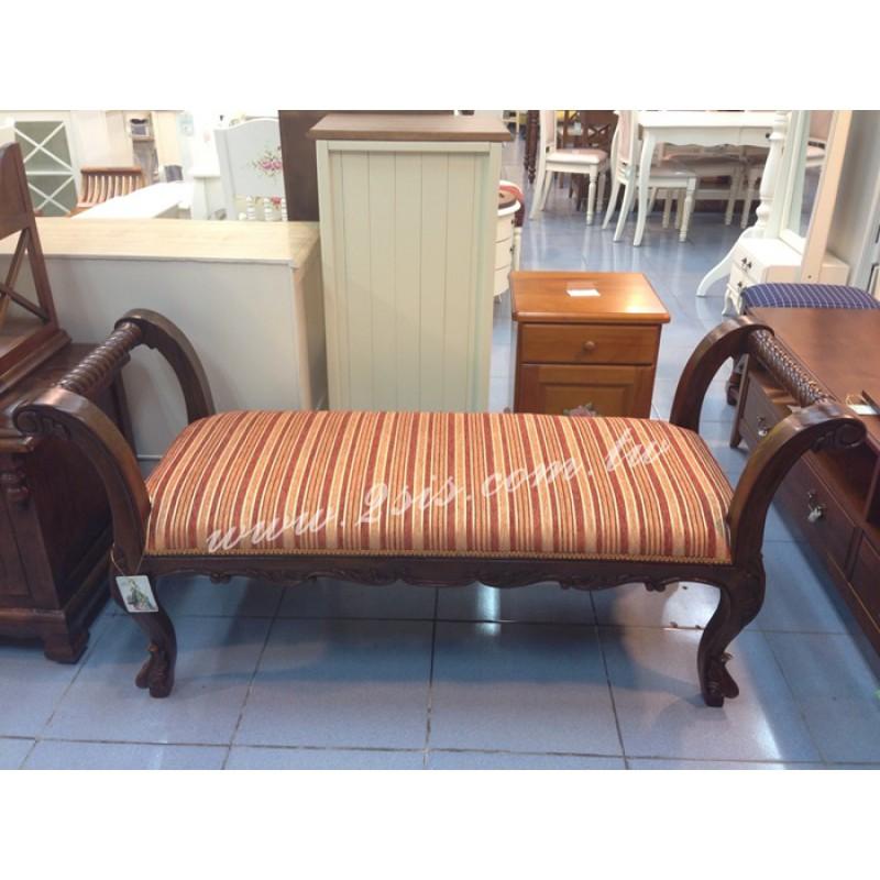 古典扶手長凳-大