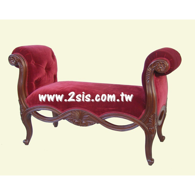艾莉莎床尾椅