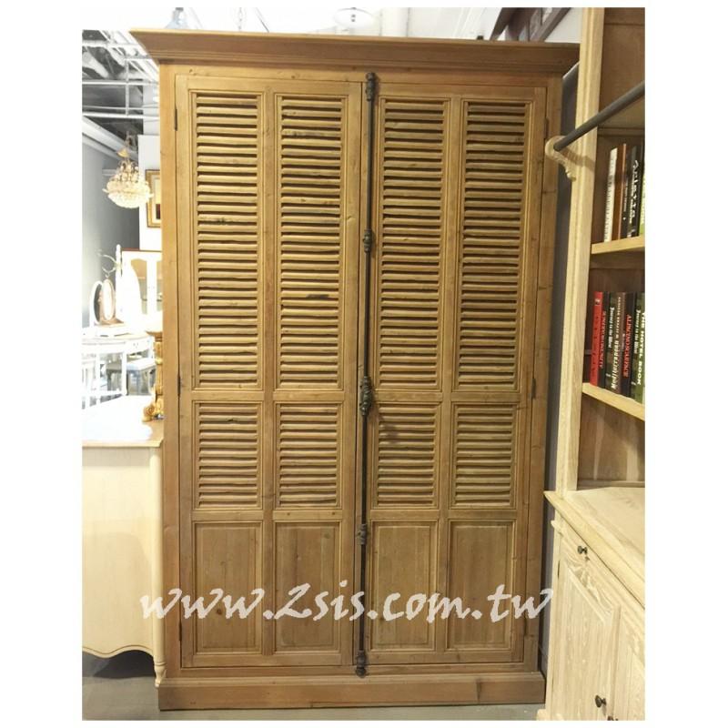 法式鄉村雙門衣櫃櫃