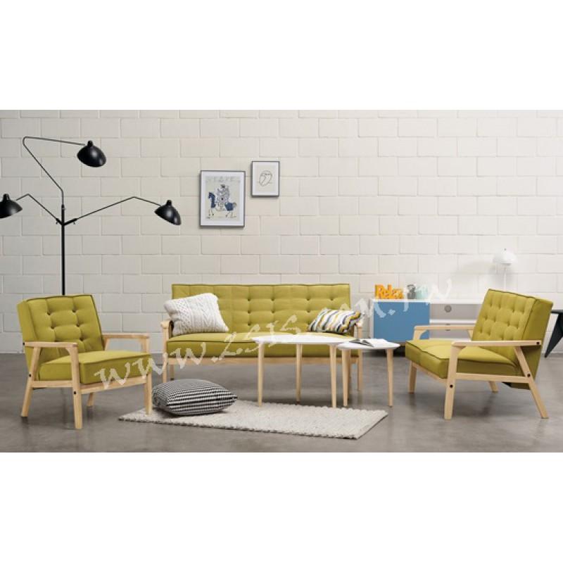碧琳逹休閒沙發二人椅