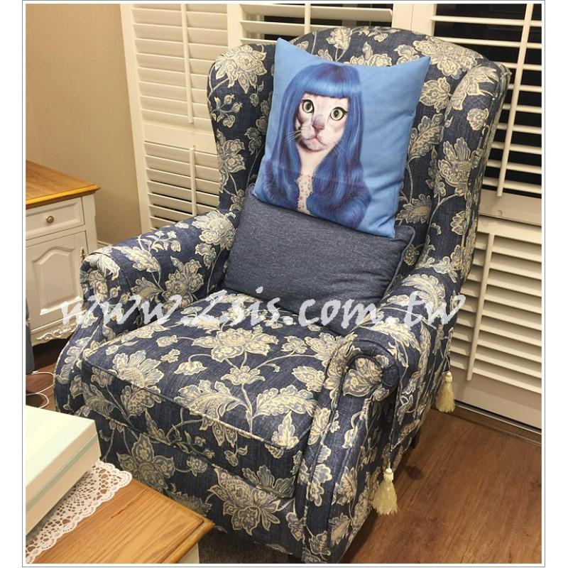 【訂製款】美式鄉村田園主人椅/單人椅