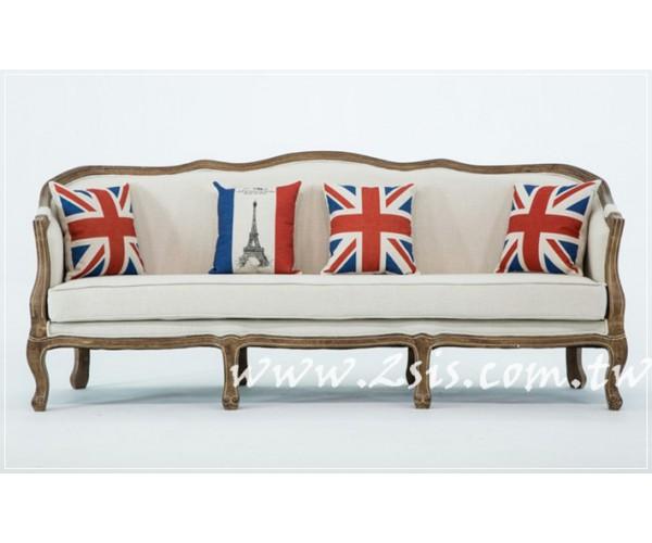 4.美式布沙發