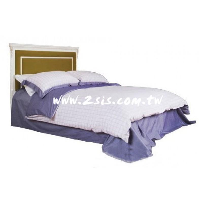 英式洗白雙人床