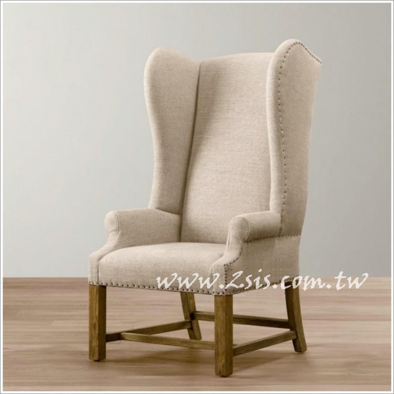 法式鄉村主人椅-高背