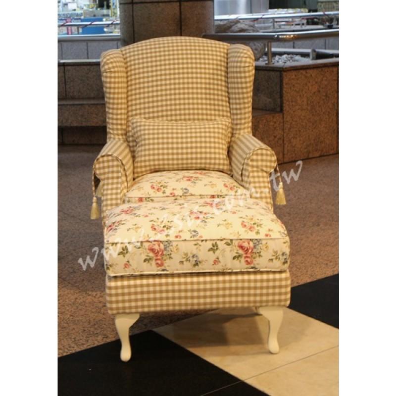 鄉村蘿拉布沙發-主人椅