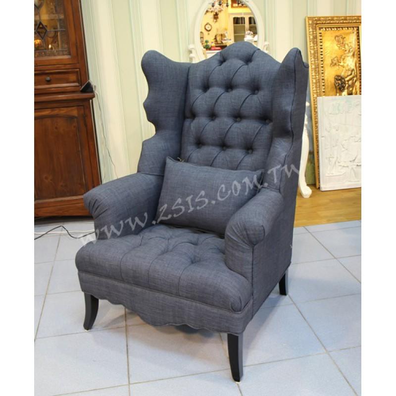 瑪雅布扣休閒椅+椅凳