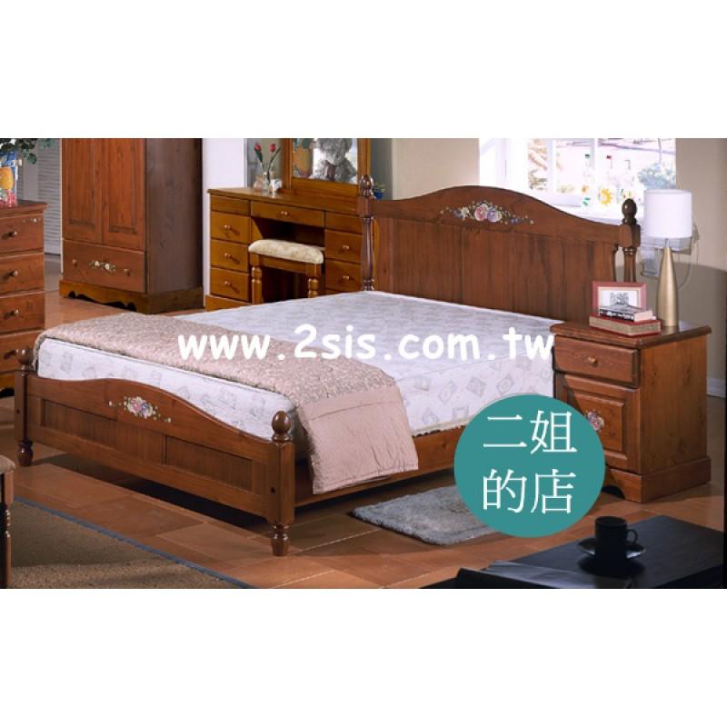 亞堤密斯彩繪雙人床(標準)