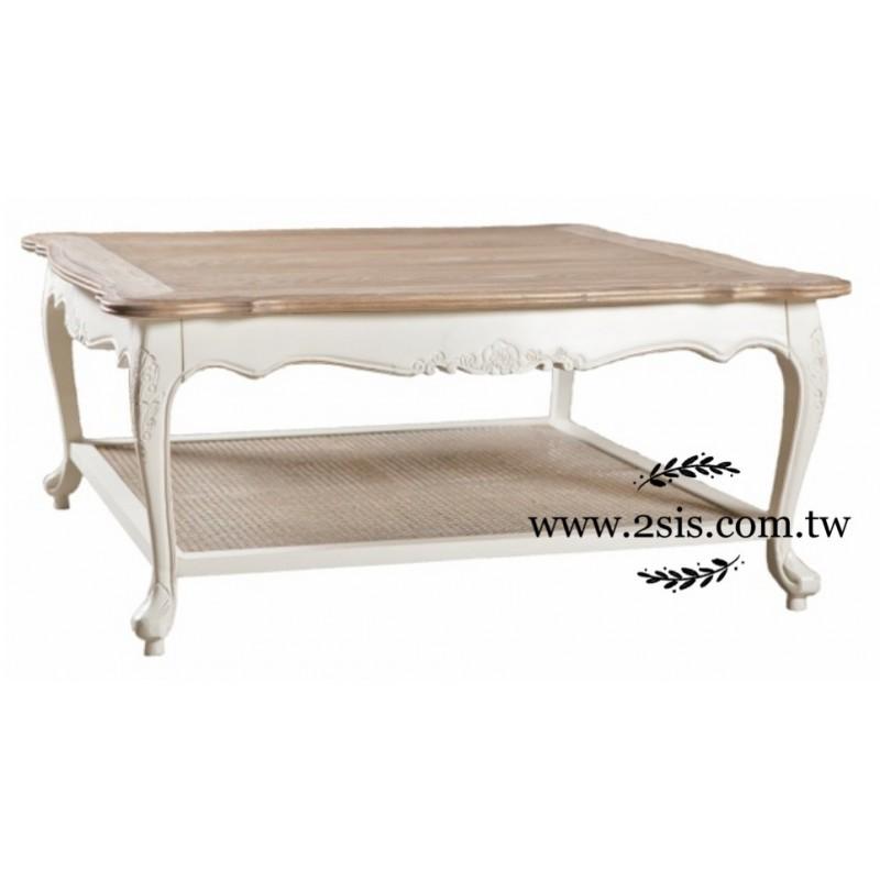 【新品上市】南法鄉村雕花茶几桌