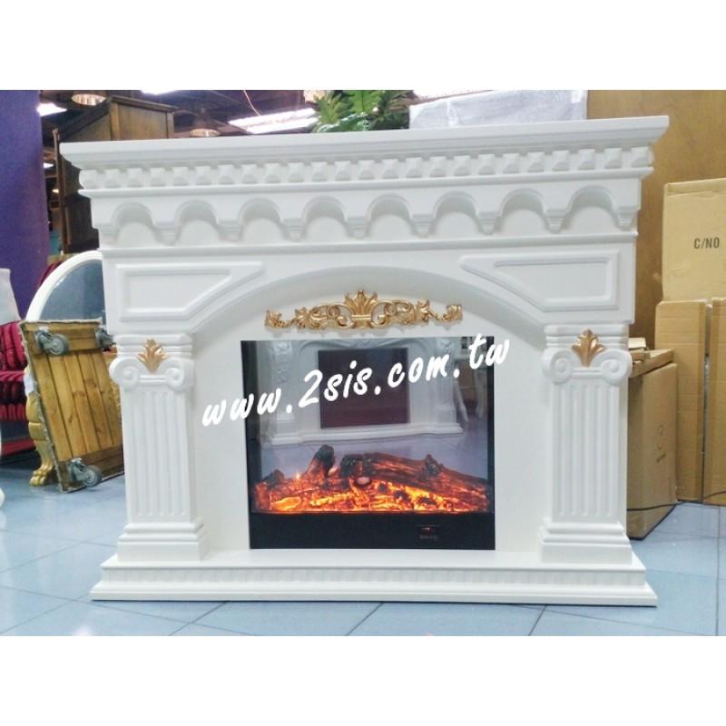 歐式古典壁爐-VA239
