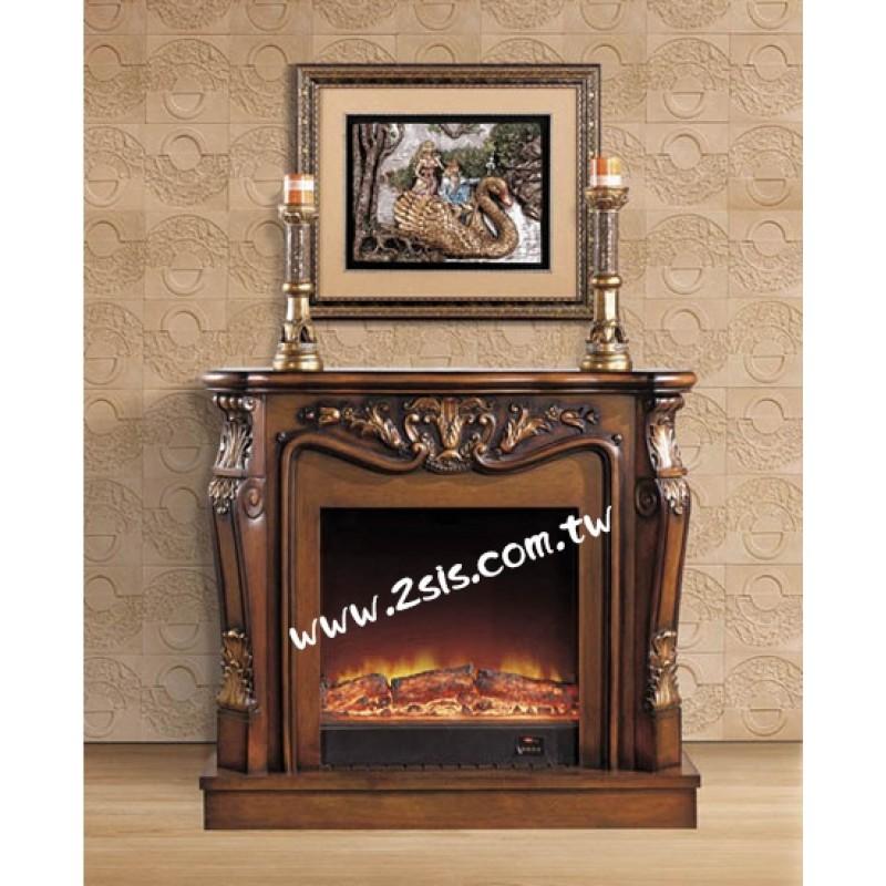 歐式古典壁爐-VA267