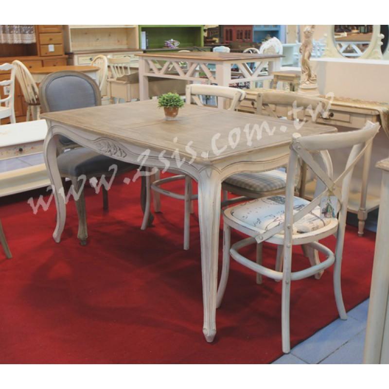 南法仿舊餐桌