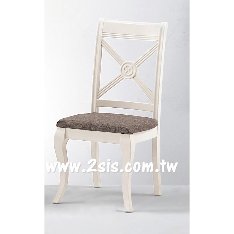 卡蜜拉餐椅(米白色)