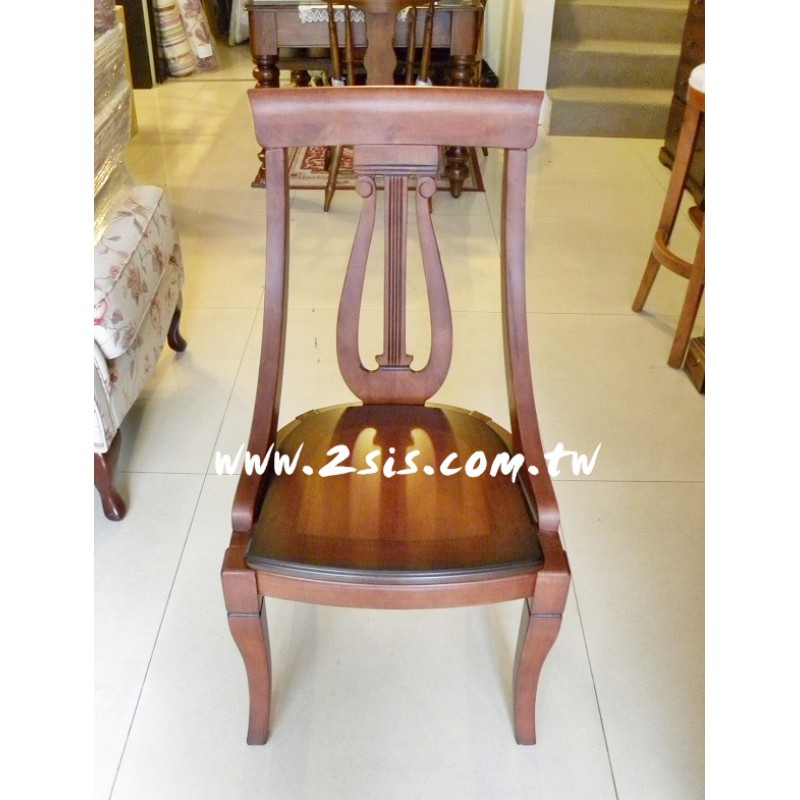 古典實木餐椅