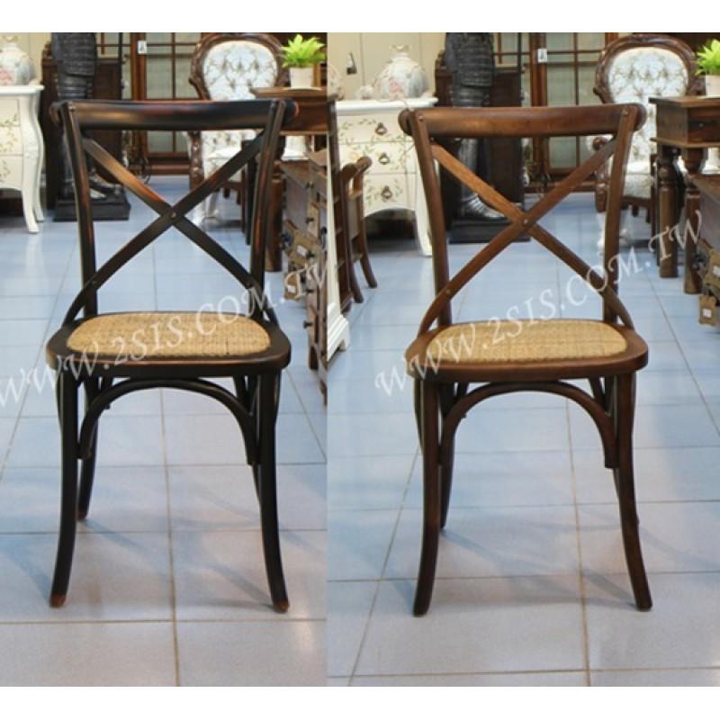 橡木交又椅