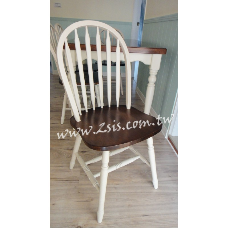 鄉村原木餐椅