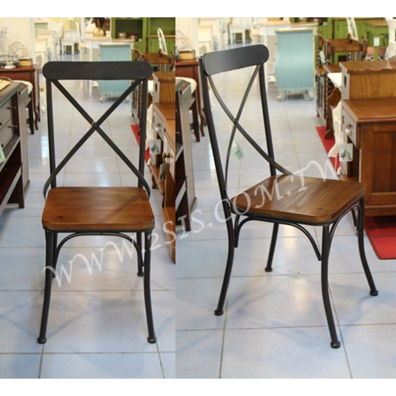 工業復古鍛鐵椅