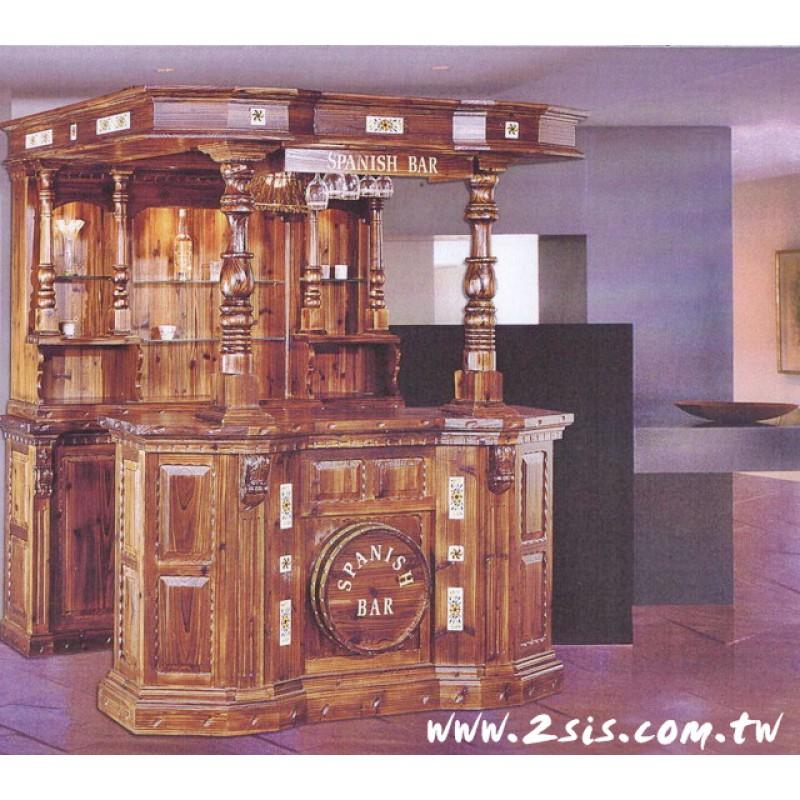 松木屋型吧台