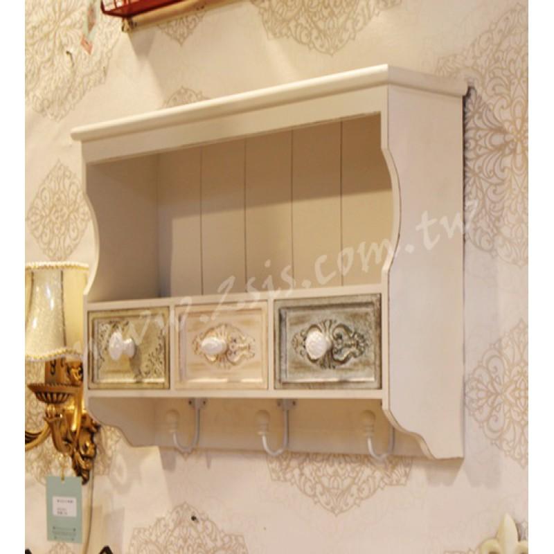 鄉村刷舊壁掛櫃
