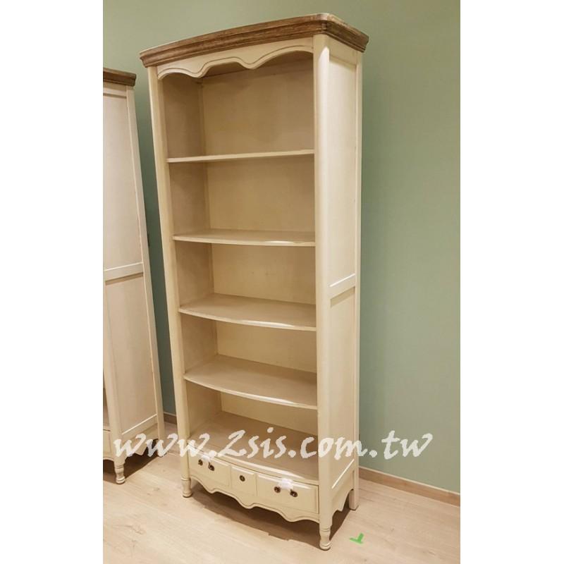 刷舊開放書櫃