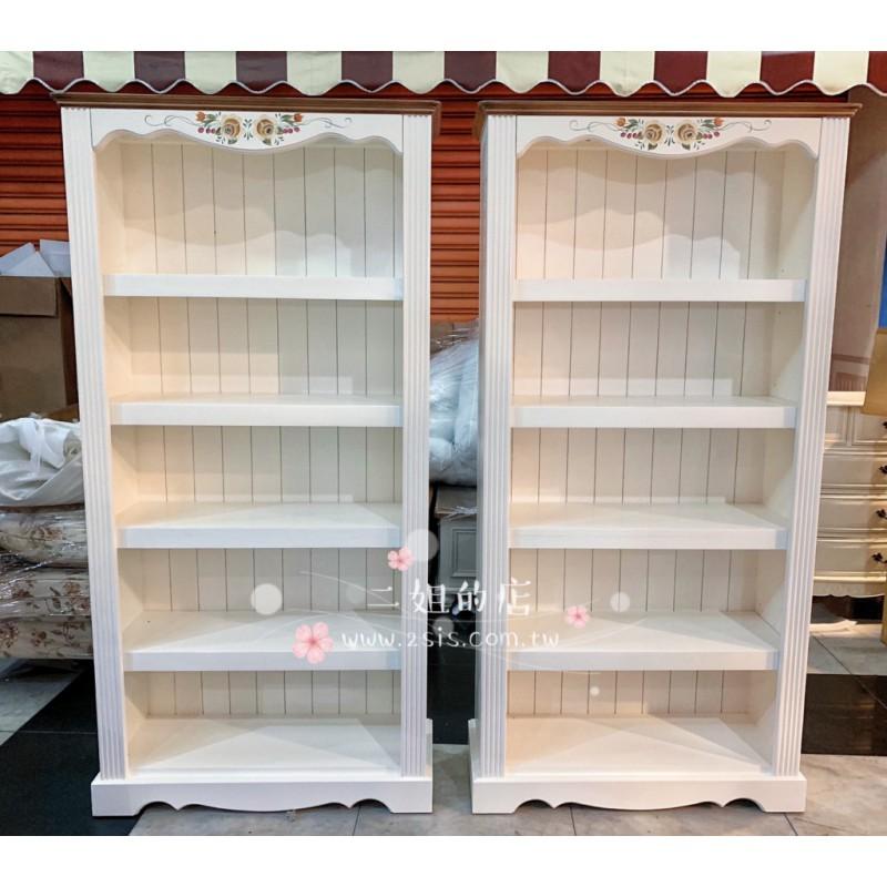 訂製款-鄉村實木大書櫃、展示櫃