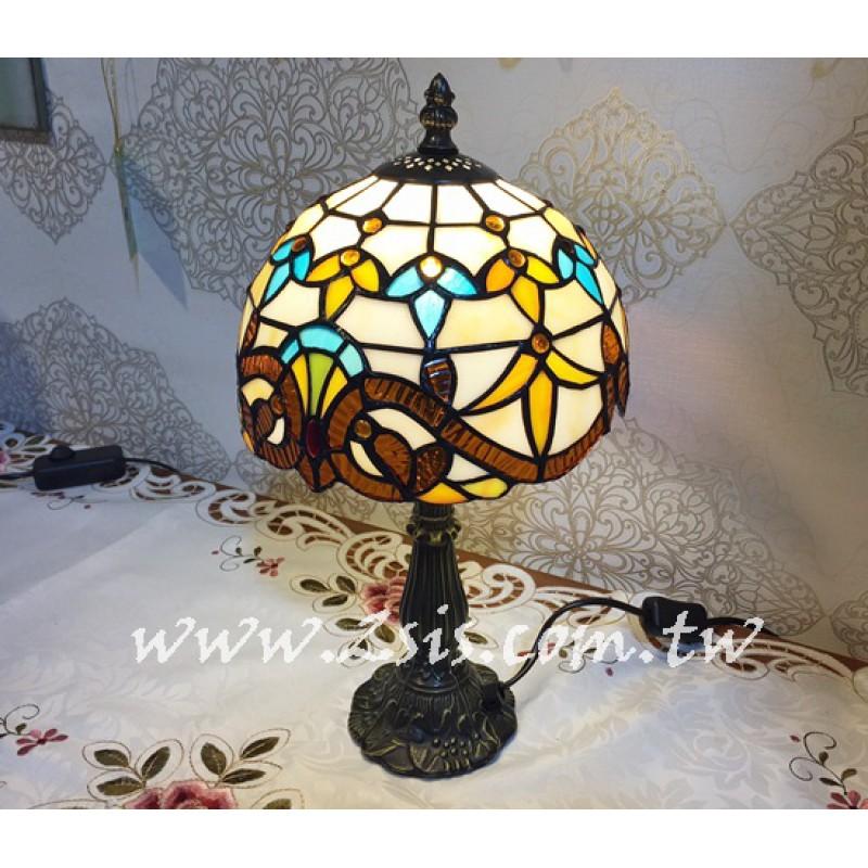 Tiffany桌燈-歐式圖騰