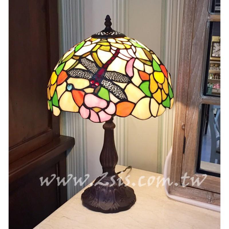 Tiffany蜻蜓桌燈(BJS017)