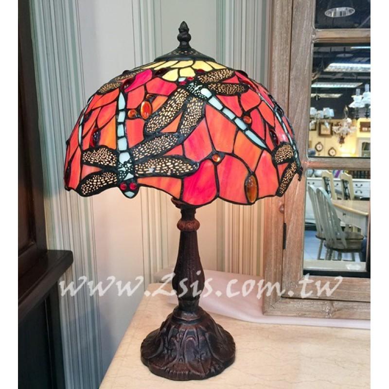 Tiffany蜻蜓桌燈(BJS142)