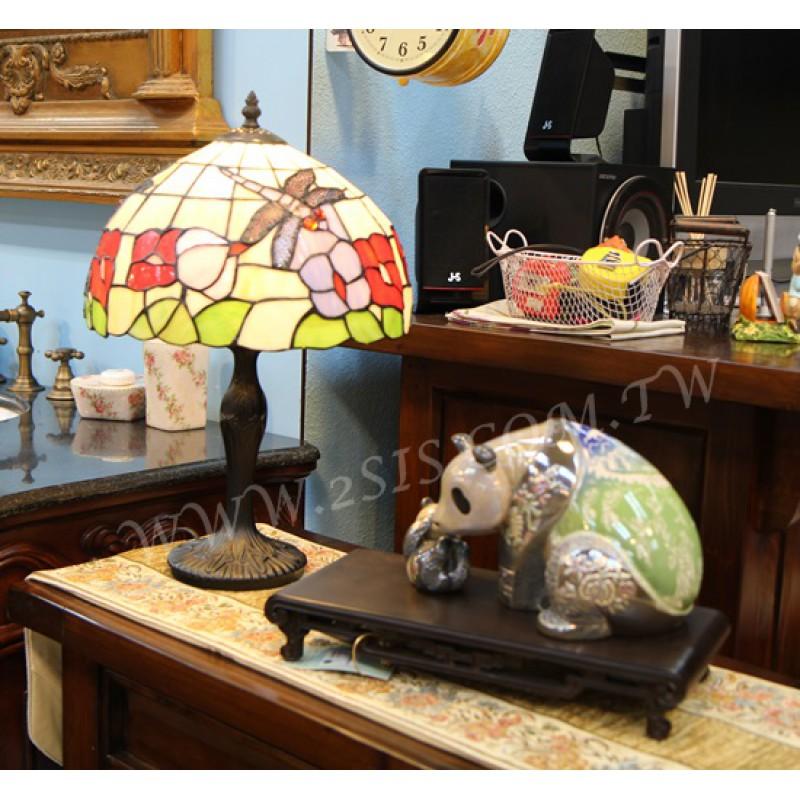 Tiffany蜻蜓桌燈F12045