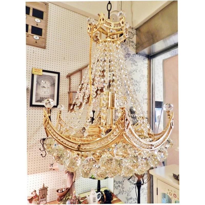 奢華歐式水晶皇冠吊燈