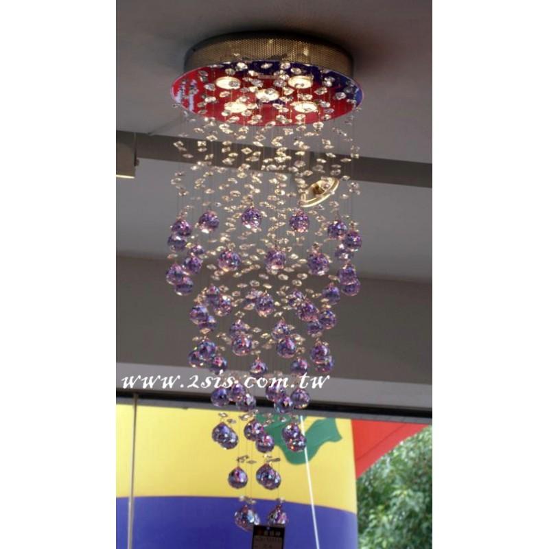 奧地利紫水晶吊燈