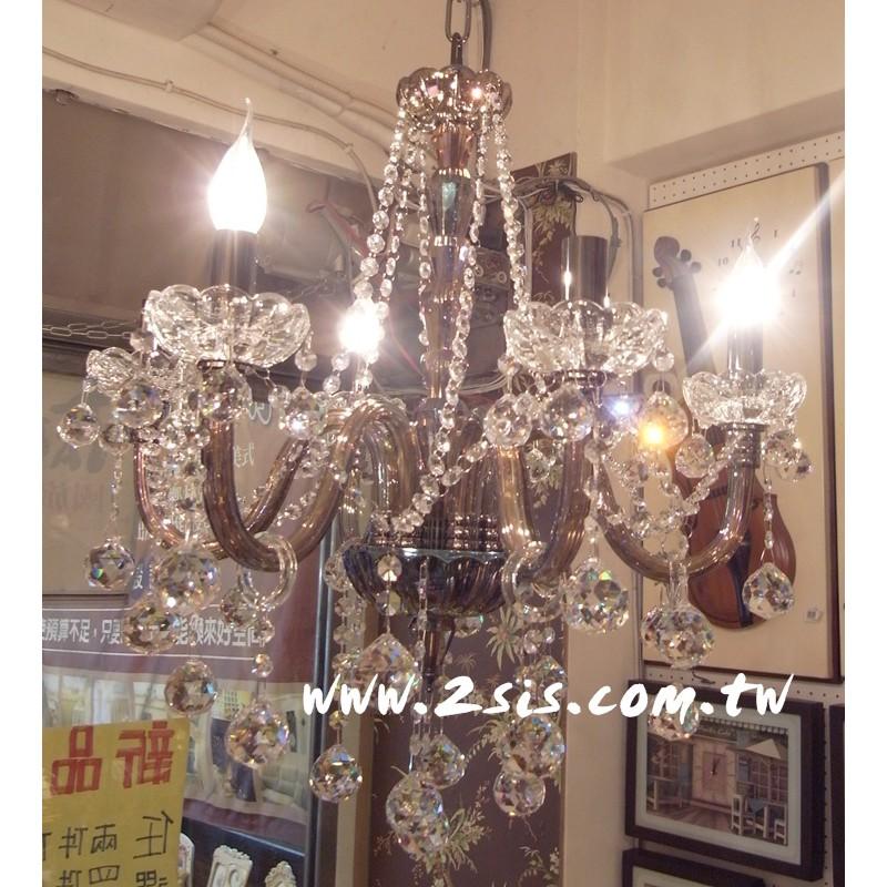 法式101古典六燈吊燈