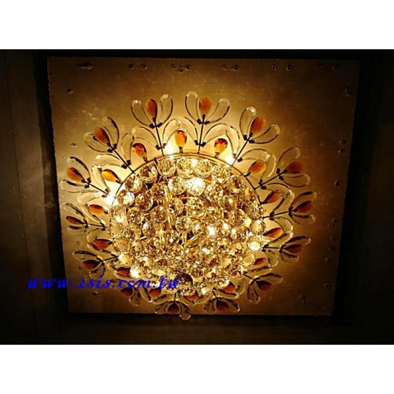 茶色葉吸頂燈(80033/60)