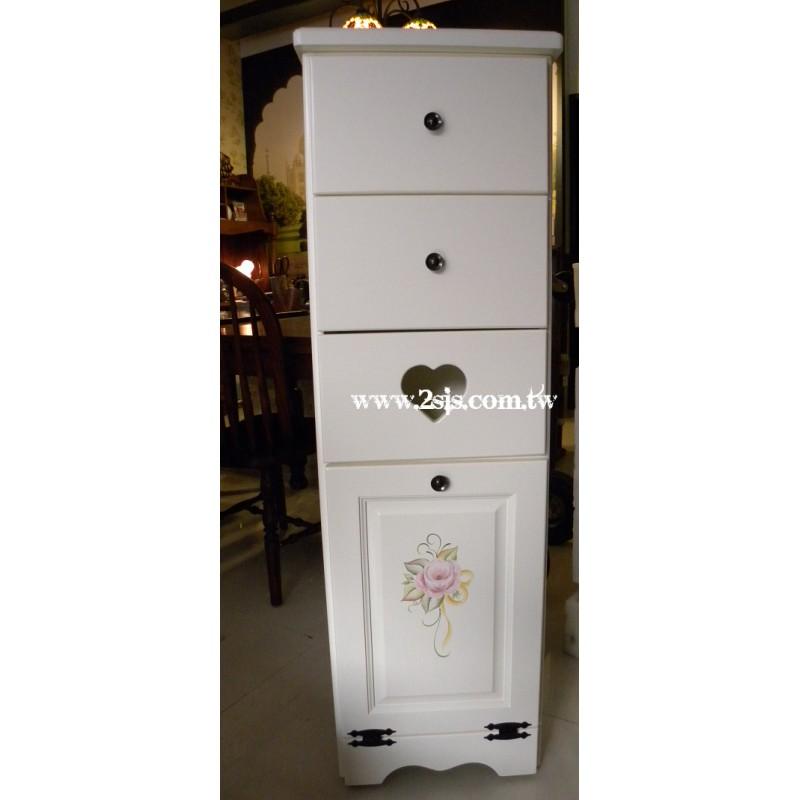 【客製品】隱藏式多功能垃圾桶收納櫃