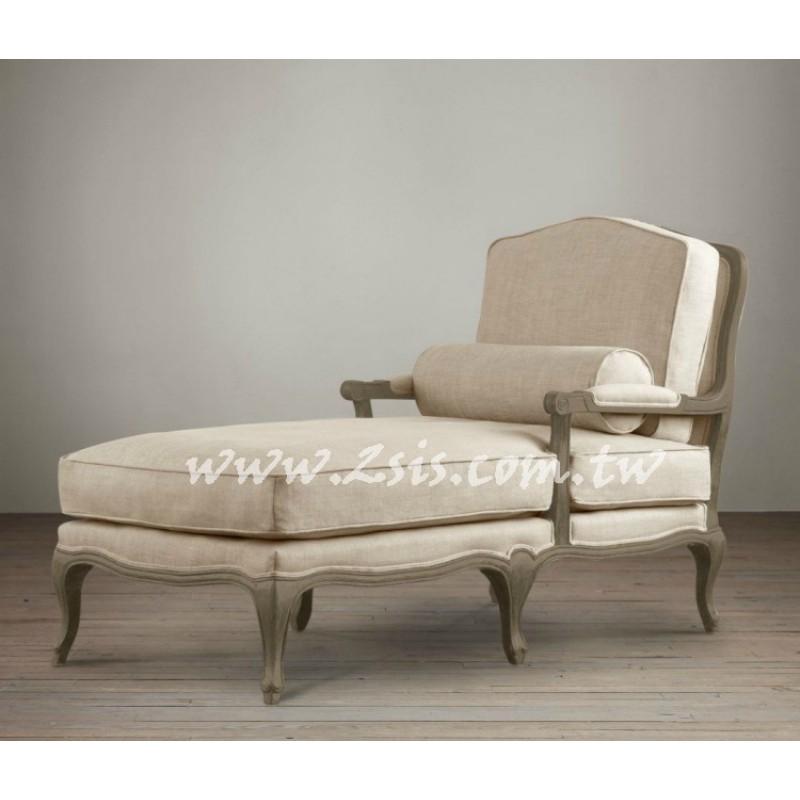 法式鄉村貴妃椅/躺椅