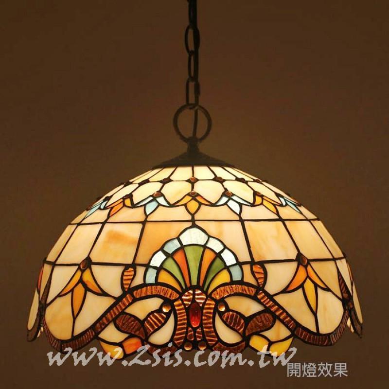 第凡內彩繪玻璃吊燈